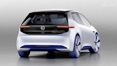 [Paris 2016] Xe điện Volkswagen hatchback concept lộ diện hoàn toàn a3