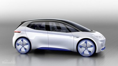 [Paris 2016] Xe điện Volkswagen hatchback concept lộ diện hoàn toàn a2