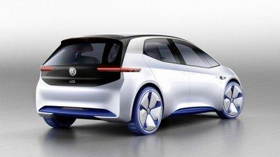 [Paris 2016] Xe điện Volkswagen hatchback concept lộ diện hoàn toàn a4