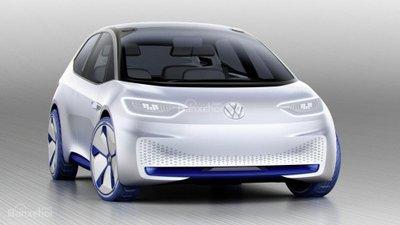 [Paris 2016] Xe điện Volkswagen hatchback concept lộ diện hoàn toàn a1