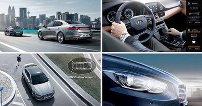 Hyundai Azera/ Grandeur 2017 được lắp đặt nhiều công nghệ an toàn tiên tiến, hiện đại.