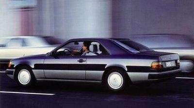 Mercedes E-Class Coupe và lịch sử 30 năm thăng trầm.