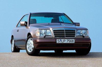 Mercedes E-Class Coupe và lịch sử 30 năm thăng trầm 5
