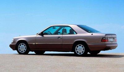 Mercedes E-Class Coupe và lịch sử 30 năm thăng trầm 2