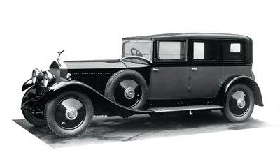 Rolls-Royce Phantom I: 1925 – 1931.
