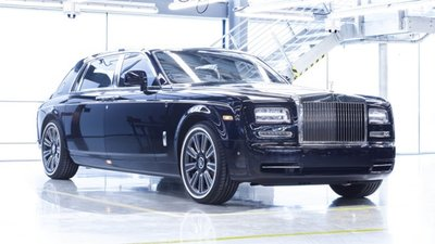 Rolls-Royce Phantom VII: 2003 – 2016.