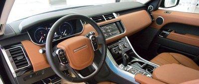 Nội thất của Land Rover Range Rover Sport 2019.