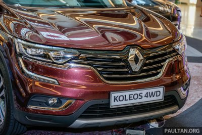 SUV Pháp Renault Koleos 2017 chính thức ra mắt Malaysia, giá 1,07 tỷ đồng a5