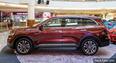 SUV Pháp Renault Koleos 2017 chính thức ra mắt Malaysia, giá 1,07 tỷ đồng a2