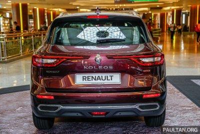 SUV Pháp Renault Koleos 2017 chính thức ra mắt Malaysia, giá 1,07 tỷ đồng a3