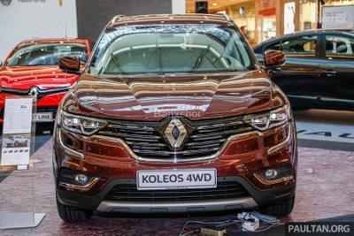 SUV Pháp Renault Koleos 2017 chính thức ra mắt Malaysia, giá 1,07 tỷ đồng a1
