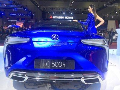 [VMS 2017] Chi tiết tuyệt phẩm xe xanh Lexus LC 500h mạnh 354 mã lực a6