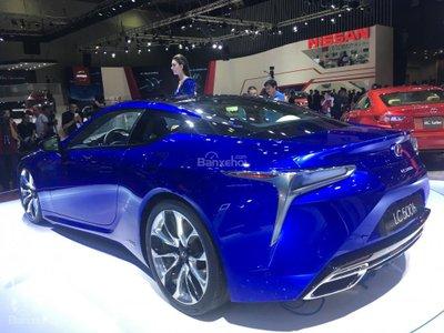 [VMS 2017] Chi tiết tuyệt phẩm xe xanh Lexus LC 500h mạnh 354 mã lực a7