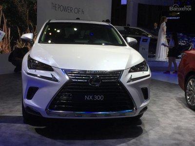 Cận cảnh crossover hạng sang Lexus NX 2018 tại triển lãm VMS.
