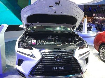 Lexus NX 300 2018 tiêu chuẩn vẫn dùng động cơ xăng tăng áp 4 xi-lanh 2.0L.