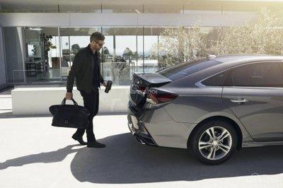 Ưu điểm của Hyundai Sonata 2019 - Không gian khoang hành lý tuyệt vời z
