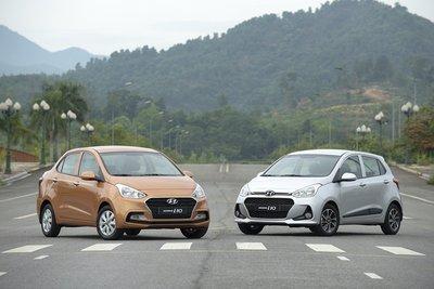 """""""Giá lăn bánh"""" của Hyundai Grand i10 2017 lắp ráp trong nước là bao nhiêu?."""