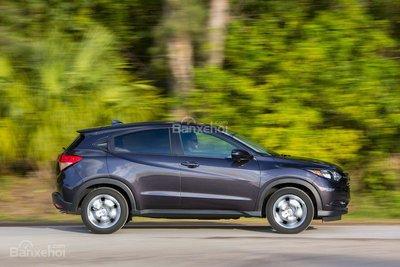 ô tô Honda HR-v màu tím đen