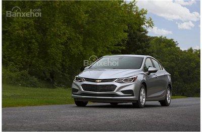 Chevrolet Cruze 2017 có khả năng tiết kiệm nhiên liệu tuyệt vời 1