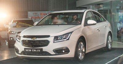 Chevrolet Cruze .,