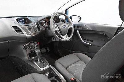 Ford Fiesta Ambiente sở hữu tính năng điện thoại rảnh tay Bluetooth