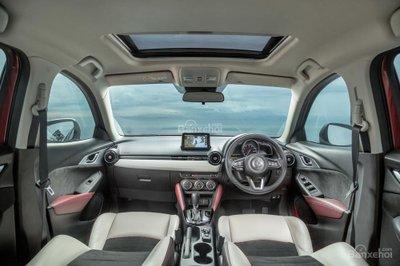 Mẫu xe cao cấp Mazda CX-3 Akari 2017 có lựa chọn động cơ và hệ dẫn động giống với mẫu sTouring