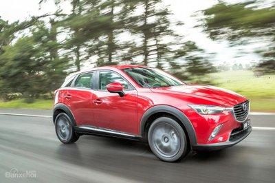 Mazda CX- 3 Akari 2017 AWD chạy xăng mang lại hàng loạt tính năng tuyệt vời cũng như cảm giác lái mạnh mẽ