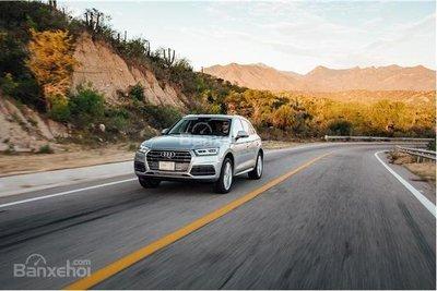 So sánh Audi Q5 và Audi Q7 2018 về mức tiêu thụ nhiên liệu.