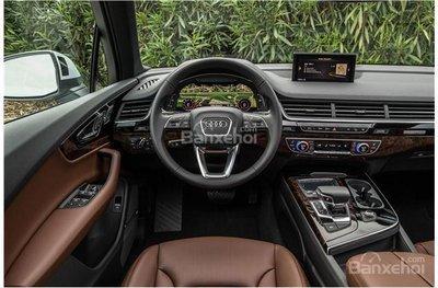 So sánh Audi Q5 và Audi Q7 2018 về các trang bị tiên nghi.