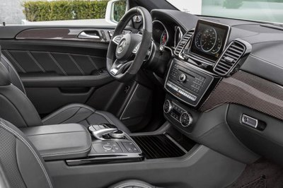 Ảnh chụp nội thất Mercedes-AMG GLE 63 4MATIC