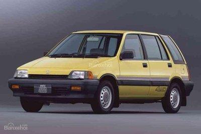 Honda CR-V thời kỳ sơ khai.