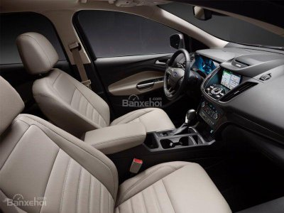 nội thất xe Ford Escape 2017 màu be