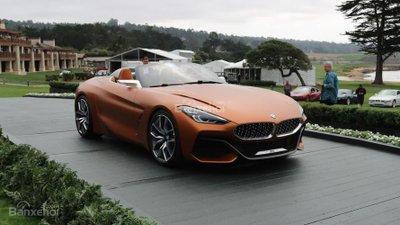 ô tô BMW Z4 M40i màu cam
