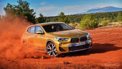 Giá xe BMW X2 2018 dự kiến khởi điểm từ 30.000 bảng Anh/
