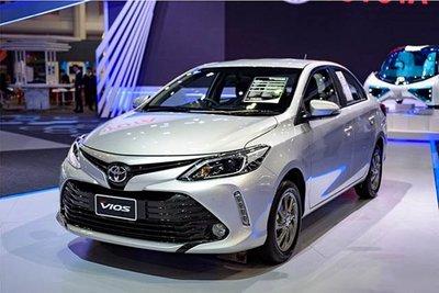 Toyota Vios bản nâng cấp mới nhất bất ngờ lăn bánh tại Việt Nam a1