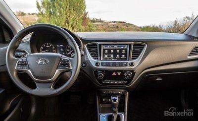 Nội thất Hyundai Accent 2018.