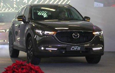 Mazda CX-5 2018 thế hệ mới có giá từ 879 triệu đồng tại Việt Nam.