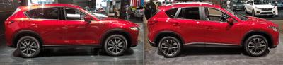 Thân xe Mazda CX-5 2018 mới và cũ có gì khác