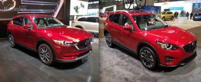 Mazda CX-5 2018 mới khác gì so với phiên bản cũ