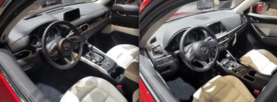 Nội thất Mazda CX-5 2018 mới và cũ có gì khác nhau