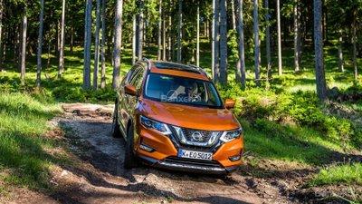 Nissan X-Trail 2018 màu cam