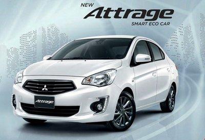 Ngoại thất xe Mitsubishi Attrage 2020 a3