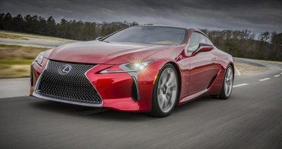 Lexus LC F sẽ là mẫu xe mạnh nhất lịch sử Lexus/