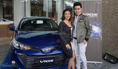 Toyota Vios 2018 có giá từ 439 triệu đồng tại thị trường Lào.