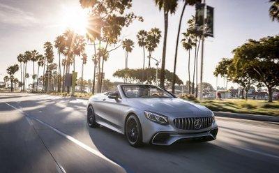 Mercedes S-Class Cabrio mới giá 3,5 tỷ dành cho khách hàng Anh a2
