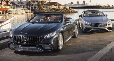 Mercedes S-Class Cabrio mới giá 3,5 tỷ dành cho khách hàng Anh 1
