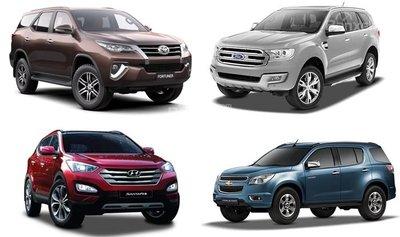 Nên mua SUV: Khoang hàng lý rộng, vị trí ghế lái cao, sức tải/kéo lớn, off-road.