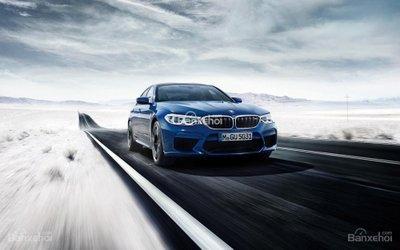 BMW M5 2018 thế hệ mới nhất