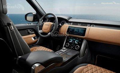 Nội thất của Land Rover Range Rover 2019.