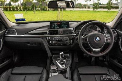 Khoang cabin của BMW 3-Series F30